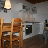 Kitchen appartement les2alpes