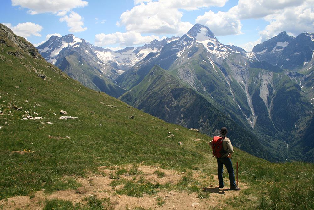 Wandelen tijdens zomervakantie les 2 alpes